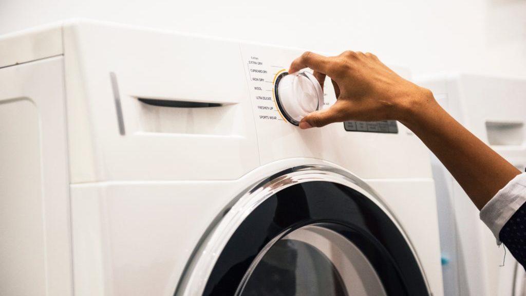 自宅での洗濯