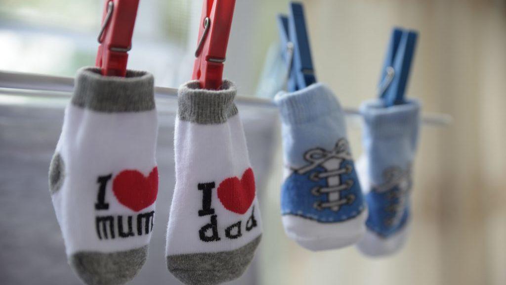 子供の靴下