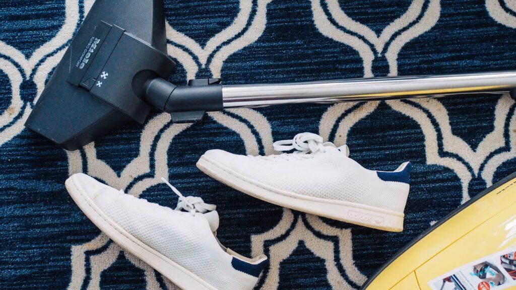 靴と掃除機